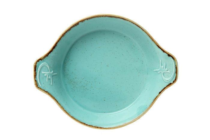 Porland Seasons Turquoise ovenschaal 18 cm