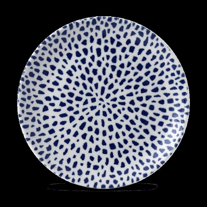 Dudson Terrazzo Blue coupe bord 26 cm