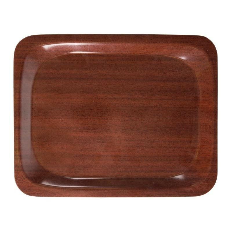 Cambro rechthoekig dienblad mahonie 32,5 x 26,5 cm