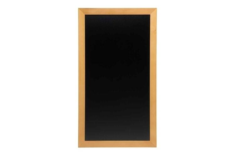 Securit krijtbord Woody hoog teak 56 x 100(h) cm