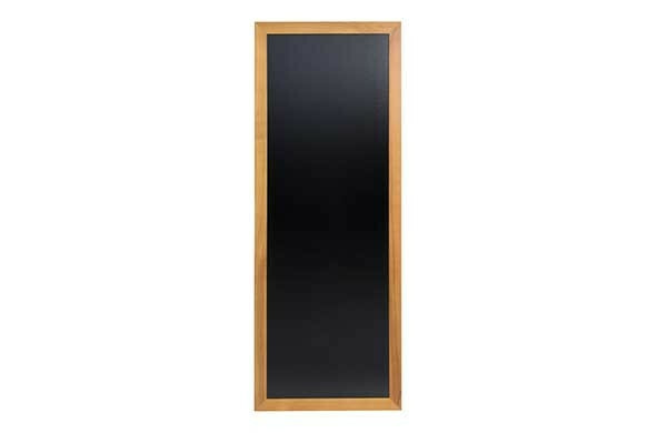 Securit krijtbord Woody extra hoog teak 56 x 150(h) cm