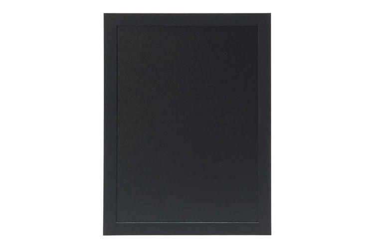 Securit krijtbord Woody klein zwart 30 x 40(h) cm