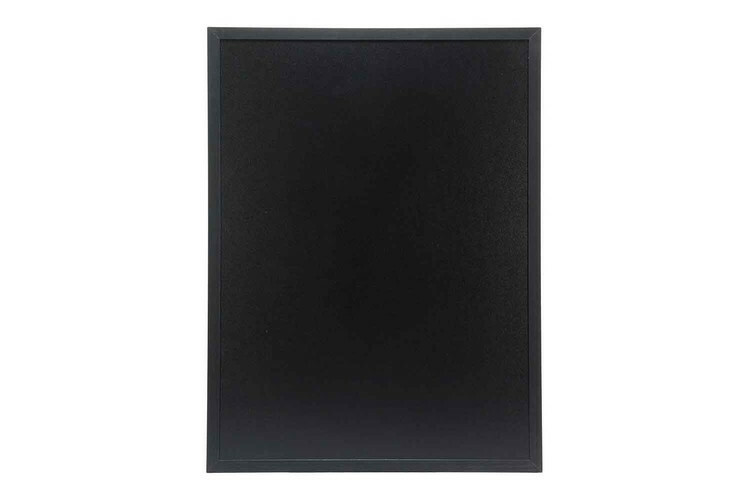 Securit krijtbord Woody groot zwart 60 x 80(h) cm