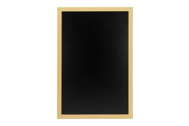 Securit krijtbord Woody medium teak  40 x 60(h) cm