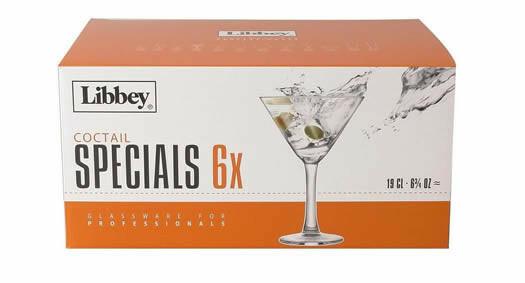 Royal Leerdam Specials cocktailglas 19 cl DOOS 6