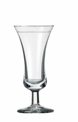 Royal Leerdam Intermezzo borrelglas 3.5 cl met maatstreep DOOS 12