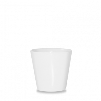 Churchill Bit on the Side square white chip mug 45,5 cl