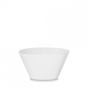 Churchill Bit on the Side square white bowl 51 cl