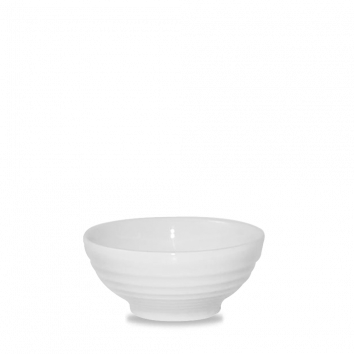 Churchill Bit on the Side ripple white snack bowl 28 cl