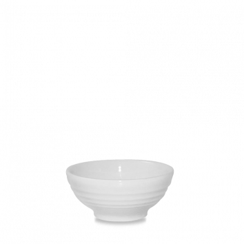 Churchill Bit on the Side ripple white snack bowl 17 cl