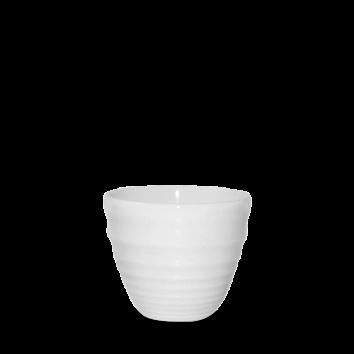 Churchill Bit on the Side ripple white chip mug 28 cl