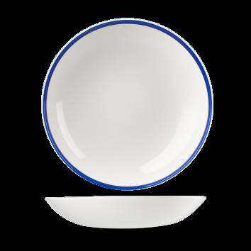 Churchill Retro Blue diep coupe bord 24,8 cm