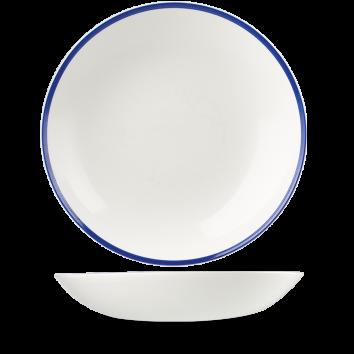 Churchill Retro Blue coupe bowl 31 cm