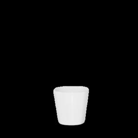 Churchill Bit on the Side square white dip pot 5,7 cl