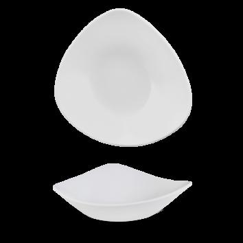 Churchill Vellum triangle bowl 18,5 cm