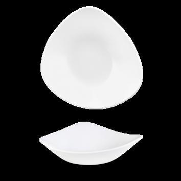 Churchill Vellum triangle bowl 23,5 cm