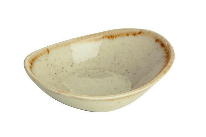 Porland Seasons Yellow mini bowl ovaal 11 cm