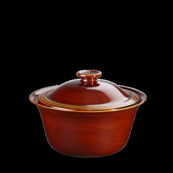 Art de Cuisine Rustics Simmer Brown casserole zonder deksel  2 Ltr