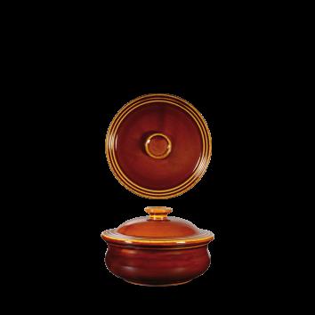 Art de Cuisine Rustics Simmer Brown stew pot and lid 14 cm