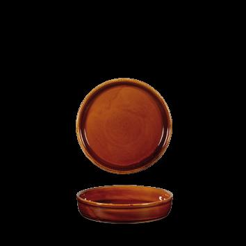 Art de Cuisine Rustics Simmer Brown mezze dish 14 cm