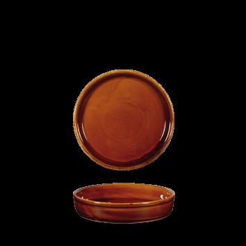 Art de Cuisine Rustics Simmer Brown mezze dish 17 cm
