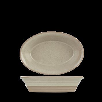 Art de Cuisine Igneous natural single serving dish 18,5 x 12,5 cm 43 cl