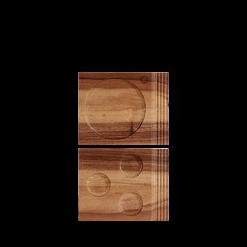 Churchill Wood single handled board 17,7 x 14,2 cm