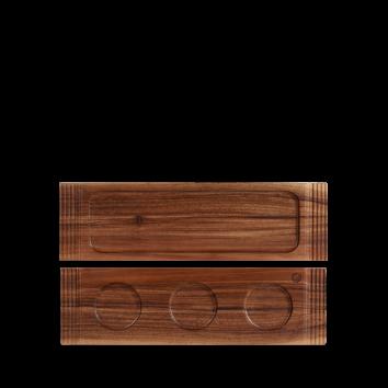 Churchill Wood medium double handled board 40 x 11,5 cm