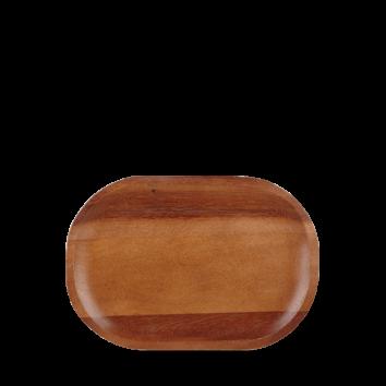 Churchill Wood acacia plate 20 x 29 cm
