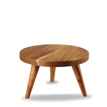 Churchill Wood large round stand 24 x 14,5(h) cm