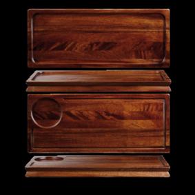 Art de Cuisine Wood large wooden deli board 40 x 16,5 cm