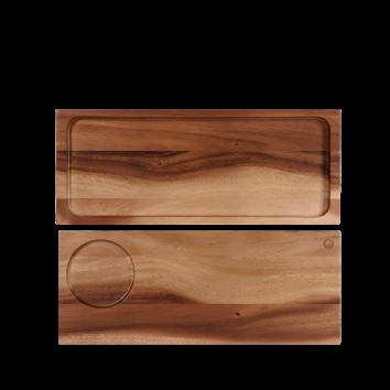 Churchill Wood large serving board 41 x 16,5 cm