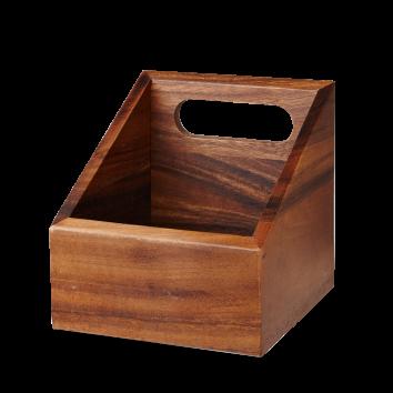 Churchill Wood wooden carrier 15 x 15 cm