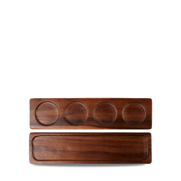 Art de Cuisine Wood medium wooden deli board 35 x 9 cm