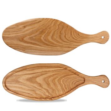 Art de Cuisine Rustic Oak oval oak board 53 x 18,5 cm