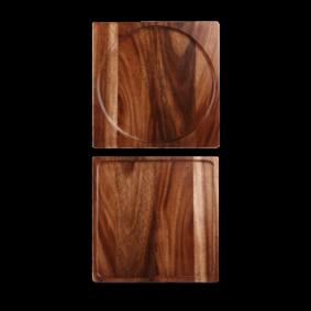 Churchill Wood square presentation board 24 cm