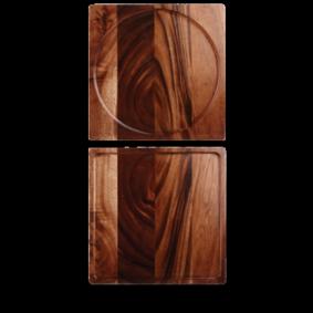 Churchill Wood square presentation board 33.5 cm