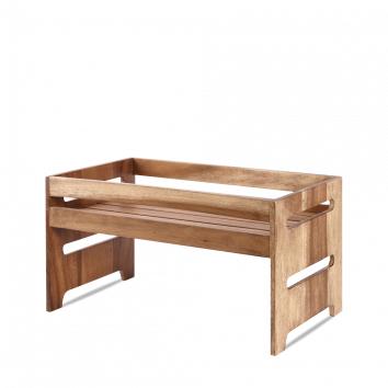 Art de Cuisine Wood large rustic nesting crate 44,5 x 25,8 x 23,5(h) cm