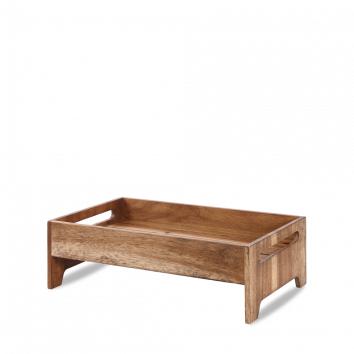 Art de Cuisine Wood medium rustic nesting crate 42,1 x 25,8 x 13,2(h) cm