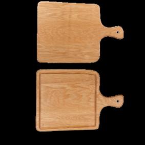 Art de Cuisine Rustic Oak square oak board 25,5 x 36,5 cm