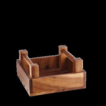 Art de Cuisine Wood square crate 20 x 10(h) cm