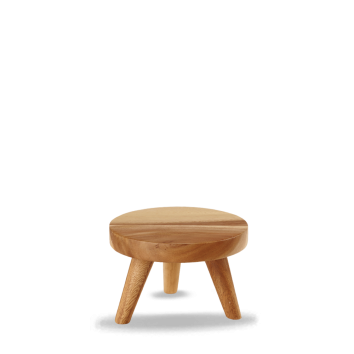 Churchill Wood small round stand 15 x 10(h) cm