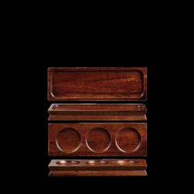 Art de Cuisine Wood Small Wooden Deli Board 27 x 9 cm