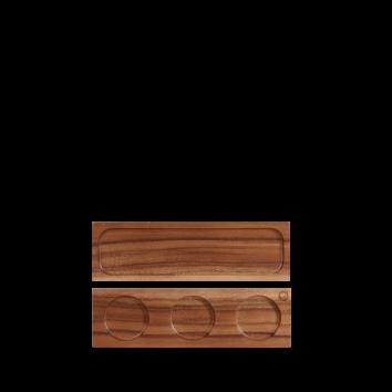 Churchill Wood small serving board 30 x 9 cm