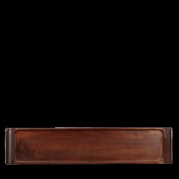 Churchill Wood rectangular buffet tray 46 x 10 cm