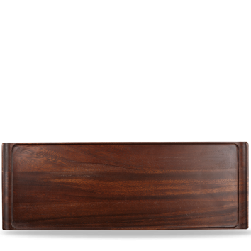 Churchill Wood rectangular buffet tray 58 x 20 cm
