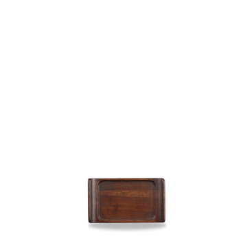 Churchill Wood rectangular buffet tray 17 x 10 cm