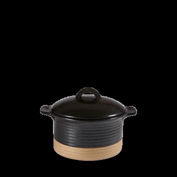 Art de Cuisine Igneous black cocotte with lid 15,9 x 7 cm 53 cl