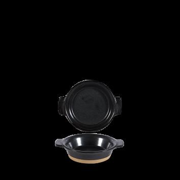 Art de Cuisine Igneous black individual dish Ø 12 cm 19 cl