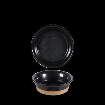 Art de Cuisine Igneous black large pie dish Ø 16 cm 55 cl